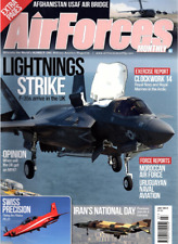 AIRFORCES MONTHLY Magazine. July 2014 - F-35s,PILATUS PC-21,MOROCCAN AIR FORCE
