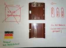 Batterie-Box: Akkus als 4,5V Flachbatterie,Adapter für 3x AA statt 3R12,3LR12