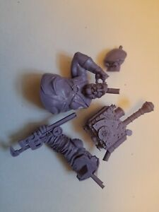 Resin Bust Space Mechanic