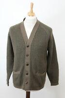 JAEGER Olive Cardigan Size 40