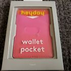 heyday Cell Phone Wallet Pocket Color Pink Ombre  (Iphone, Galaxy, Samsung)