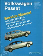 1998-2005 Volkswagen Passat wagon 4motion Repair Service Manual 2 Volumes VP05