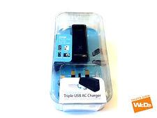 iLuv iAd217Itl Triple Usb Smartphone Ipad Iphone Ipod Chargeur De Voyage