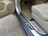 For Mazda 3 Car Accessories Door Sill Stainless Steel Trim Protector 2013-2019