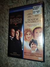 The Remains of the Day / Sense & Sensibility (2-Disc DVD, 2008) ***BRAND NEW***