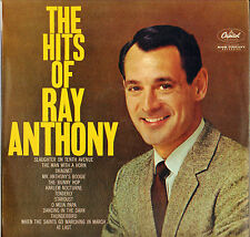 "RAY ANTHONY ""THE HITS OF / SWEET & SWINGING"" JAZZ 50'S LP CAPITOL 1477"