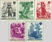 EBS Austria Österreich 1961 State-Owned Enterprises ANK 1134-1138 MNH**