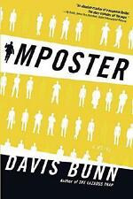 IMPOSTER by DAVIS BUNN - HARDCOVER BOOK NOVEL FICTION SUSPENSE THRILLER MYSTERY
