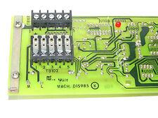 AVTRON SUB-ASSY. A 14927 BOARD REV. F. ASSY. 630101 REV. A, MACH. D15985