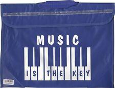 TASTIERA Pianoforte Musica Scuola Borsa Custodia ZAINETTO BLU musicisti regalo