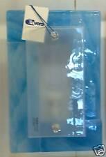 Applique di Murano vetro fusione Seta Azzurro 20X30