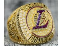 Lakers champions Ring NBA  wood box Kobe LeBron (All sizes available 8 to 13)