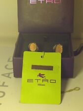 ETRO Milano Cuff Links ~ with Tags