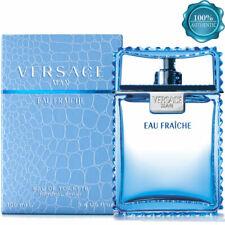 VERSACE MAN EAU FRAICHE EAU DE TOILETTE 3.4 oz Perfume Men AUTHENTIC NEW SEALED