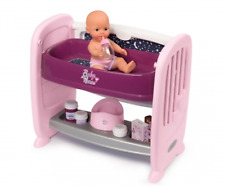 Smoby Toys 7600220353 - Baby Nurse - Dolls Co-Sleeper Bed - New
