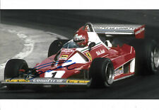 "Niki Lauda ""Ferrari"" signed 8x12 inch photo autograph"