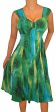 PP1 FUNFASH WOMENS PLUS SIZE DRESS SLIMMING EMPIRE WAIST COCKTAIL XL 1X 16