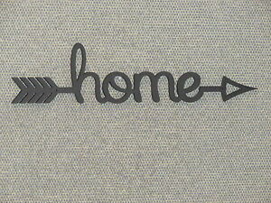 Home Arrow Wooden Wall Word Sign Home Decor