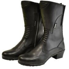 Oxford Savannah Waterproof Leather Motorcycle Boots Womens size 41/9