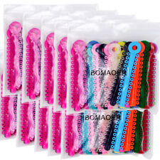 10XDental Orthodontic Stick Ligature ties Rubber Bands Rings Elastic Multi-color