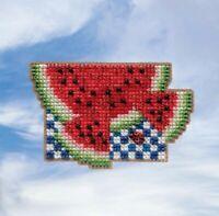 Mill Hill - Spring Bouquet - Watermelon - Cross Stitch Kit - MH18-1914