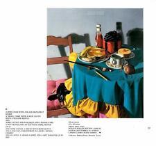 Donald Roller Wilson: Pink Chair/Black Mans Belt/Food- Vtg Bookplate Art Print