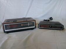 Vintage Ge Digital Alarm Clocks With Radios