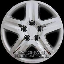 "Set of 4 CHROME 17"" Hub Caps Wheel Covers 5 Spoke Star Full Tire Rim 5 Lug Hubs"