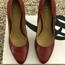 Red Nine West Heels Size 8.5