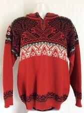 Dale Of Norway Nagano Ski Sweater Red L Wool Nordic