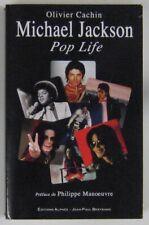 Mickael Jackson Livre Pop life Philippe Manoeuvre 2008