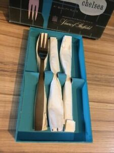 1960's Viners, Gerald Benney silver plated 'Soup Spoons' and 'Table Forks'