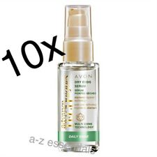 10x Avon Advance Techniques DAILY Shine Siero estremità a secco - 30 ML
