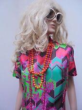 Kleid 70er Jahre Orig.True Vintage Boho Hippie Schlagerparty 42 44