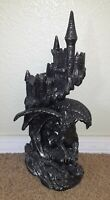 Dragon Castle Statue 14 Inch Tall DWK 2014 Dragon Lair Excellent Condition