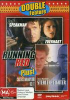 Running Red DVD Jeff Speakman - Angie Everhart 1999 + STEALTH FIGHTER - RARE