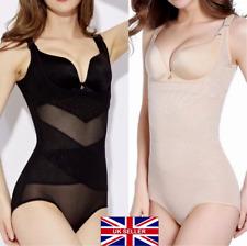 Ladies Womens Plus Size Best Body Shaping Tummy Waist Trimmer Bodysuit Underwear