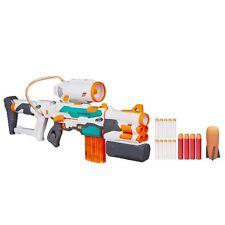 NERF Modulus Elite Tri Strike Blaster Toy Dart Gun Pod N Mega Darts New Kids
