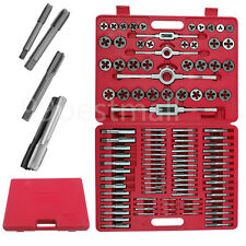 UK110PCS Tungsten WRENCH TAP and Die Set Cutter Kit Metric Steel Screw Bolt Case
