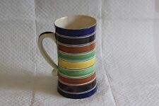 Ashtead Potters Art Deco Pottery Striped Tankard