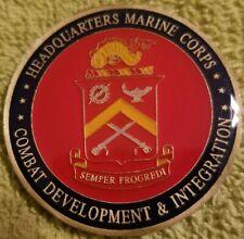 Challenge Coin Marine Corps Combat Quantico Virginia