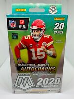 2020 Panini Mosaic NFL Football Hanger Box Walmart Exclusive Reactive Orange