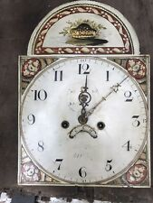 More details for antique longcase, grandfather clock movement