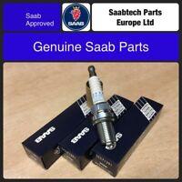 GENUINE SAAB 9-3 Spark Plugs B207 All petrol Models 2003-2011 55571391