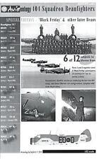 "Aviaeology Decals 1/32 BRISTOL BEAUFIGHTER 404 Squadron ""Black Friday"" Part 1"