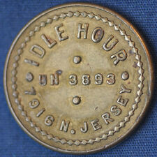 IDLE HOUR UN 3893 7916 N. JERSEY GOOD FOR 5¢ IN TRADE Portland OR Token TC-4492