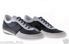 New VERSACE COLLECTION Black and White Sneakers Shoes 42 - 9