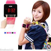 SKMEI Touch Screen Digital LED Watches Unisex Boys Girls Date Sport Wrist Watch