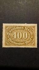 Sello alemán sello inusitado Imperio Alemán 1922