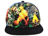 DC Comics AQUAMAN Sublimated Print All Over Snapback Hat - BRAND NEW & RARE
